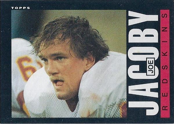 Joe Jacoby 1985 Topps