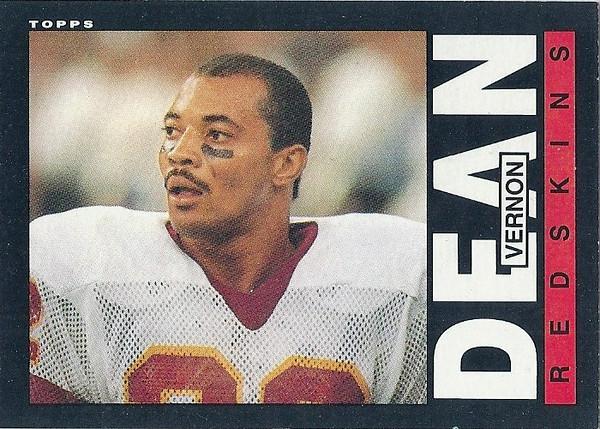 Vernon Dean 1985 Topps