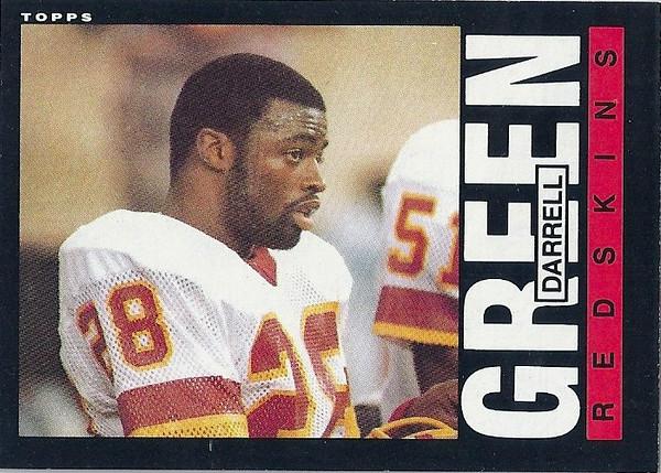 Darrell Green 1985 Topps