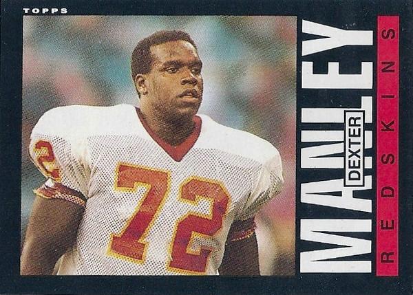 Dexter Manley 1985 Topps