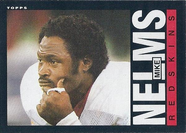 Mike Nelms 1985 Topps