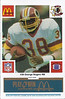 George Rogers 1986 McDonald's Blue Tab