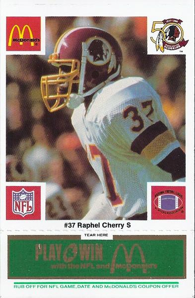 Raphel Chery 1986 McDonald's Green