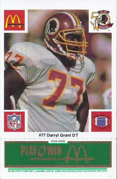 Darryl Grant 1986 McDonald's Green