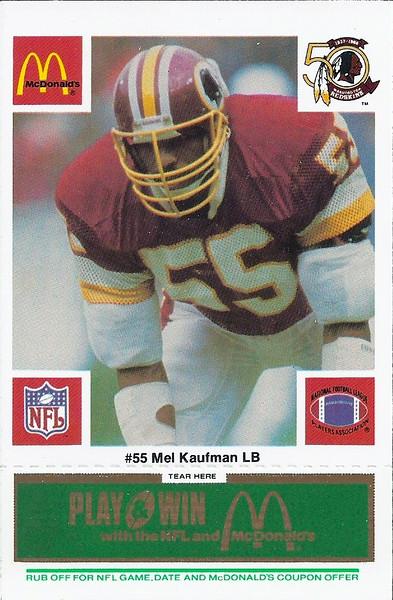 Mel Kaufman 1986 McDonald's Green