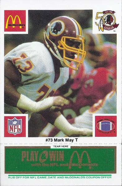 Mark May 1986 McDonald's Green