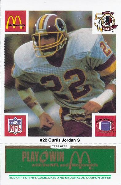 Curtis Jordan 1986 McDonald's Green