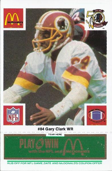 Gary Clark 1986 McDonald's Green