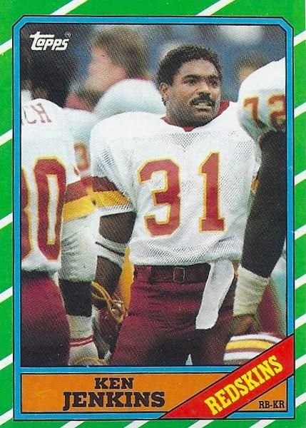 Ken Jenkins 1986 Topps
