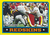 Redskins Team Card 1986 Topps