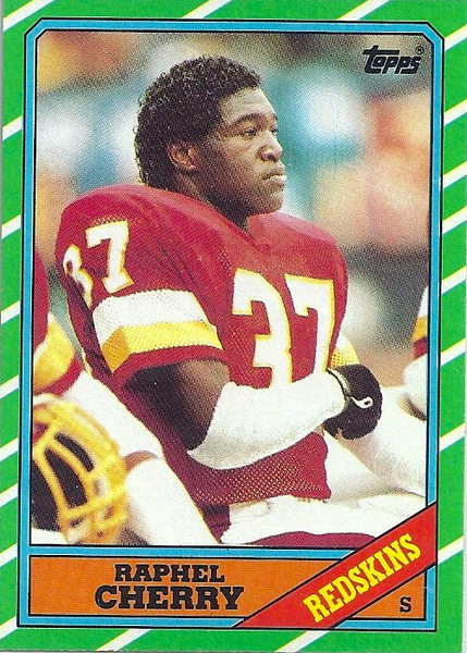 Raphel Cherry 1986 Topps