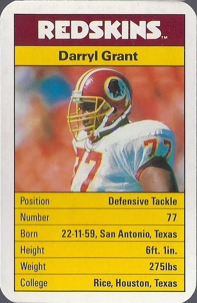 Darryl Grant 1987 ACE Fact Pack UK