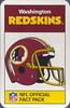Redskins 1987 ACE Fact Pack UK Header