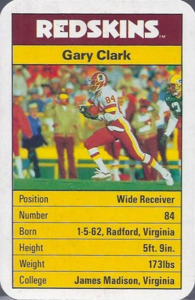 Gary Clark 1987 ACE Fact Pack UK