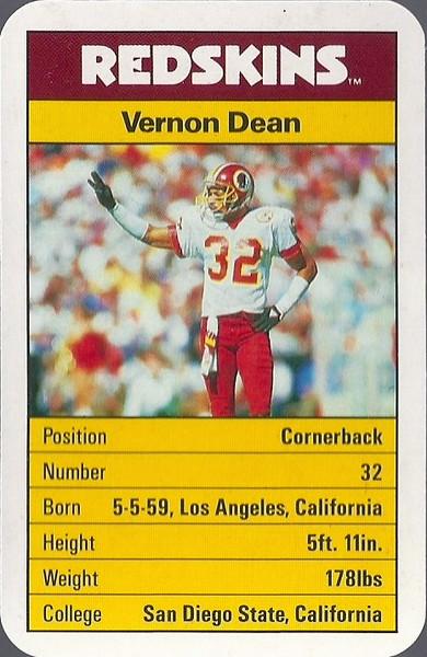 Vernon Dean 1987 ACE Fact Pack UK