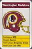 Redskins 1987 ACE Fact Pack UK Helmet