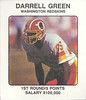 Darrell Green 1987 Franchise