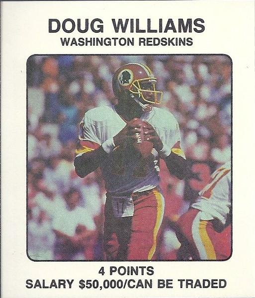 Doug Williams 1987 Franchise