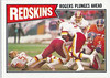 Redskins Team Card 1987 Topps