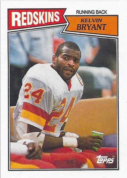 Kelvin Bryant 1987 Topps