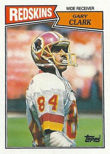 Gary Clark 1987 Topps