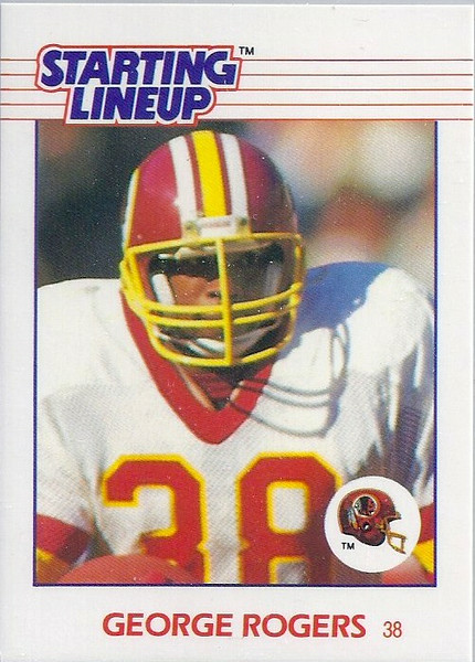 George Rogers 1988 Starting Lineup Cards
