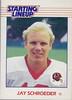 Jay Schroeder 1988 Starting Lineup Cards