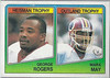 George Rogers and Mark May 1988 Topps Box Bottoms