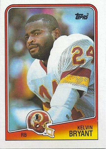 Kelvin Bryant 1988 Topps