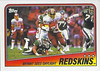 Redskins Team Card 1988 Topps