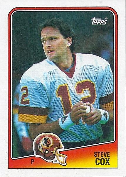Steve Cox 1988 Topps