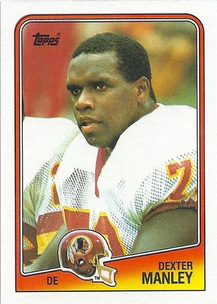 Dexter Manley 1988 Topps