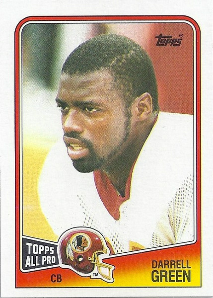 Darrell Green 1988 Topps