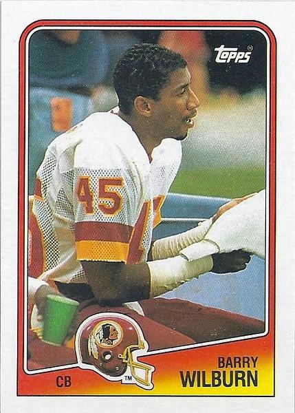 Barry Wilburn 1988 Topps