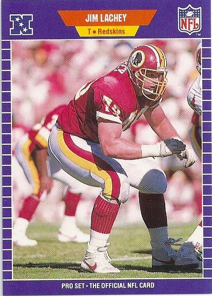 Jim Lachey 1989 Pro Set