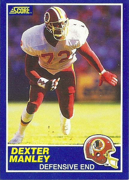 Dexter Manley 1989 Score