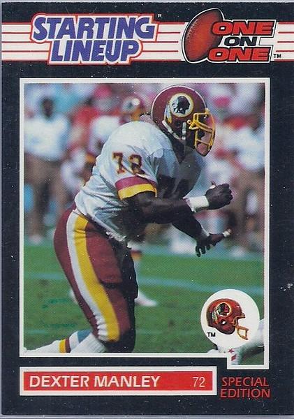 Dexter Manley 1989 Starting Lineup Cards