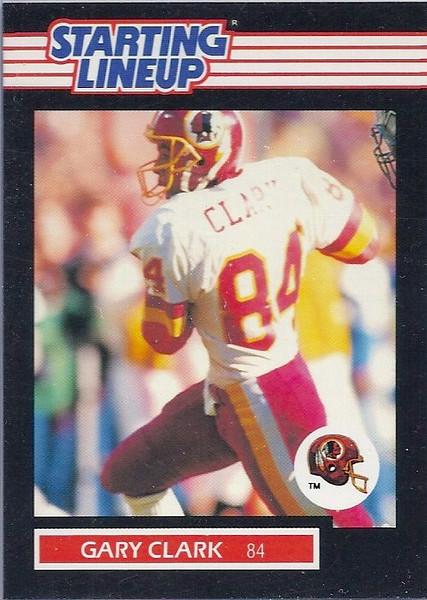 Gary Clark 1989 Starting Lineup Cards