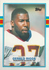 Gerald Riggs 1989 Topps Traded