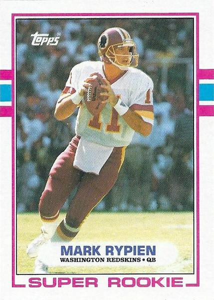 Mark Rypien 1989 Topps