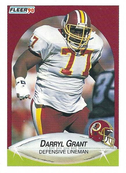Darryl Grant 1990 Fleer
