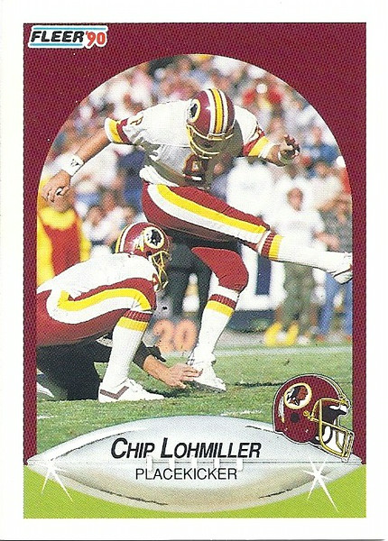 Chip Lohmiller 1990 Fleer