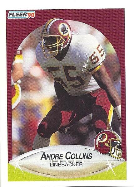 Andre Collins 1990 Fleer Update