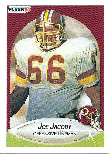 Joe Jacoby 1990 Fleer
