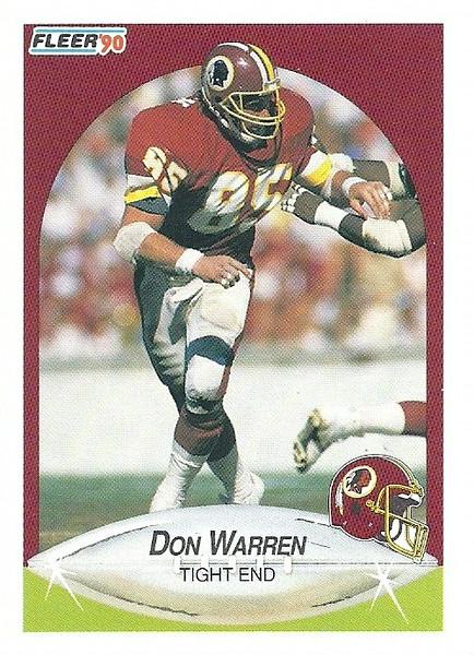 Don Warren 1990 Fleer