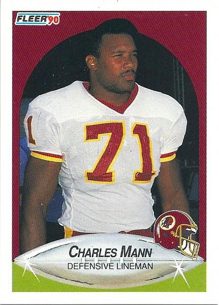 Charles Mann 1990 Fleer