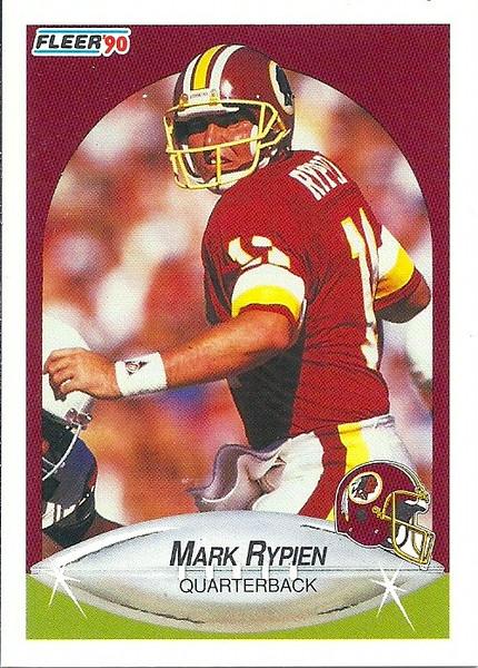 Mark Rypien 1990 Fleer