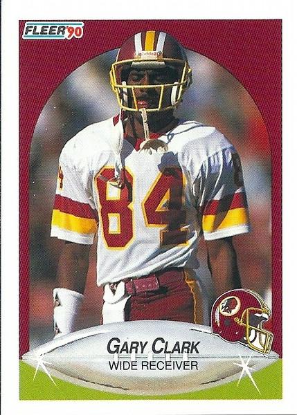 Gary Clark 1990 Fleer
