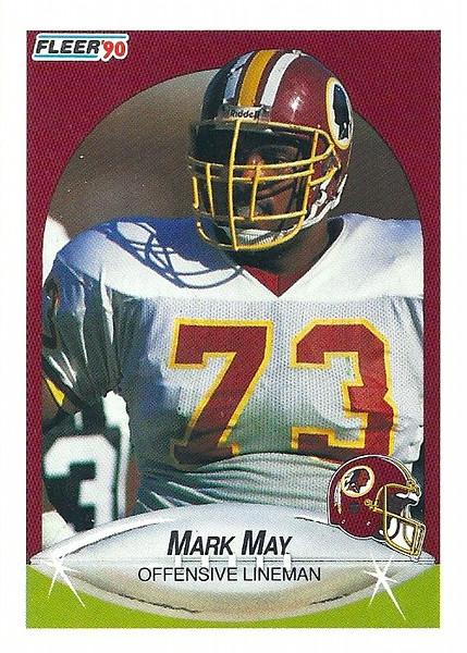 Mark May 1990 Fleer