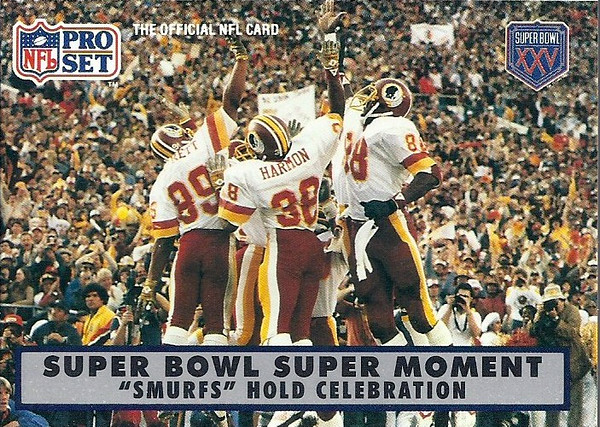 1990 Pro Set Super Bowl XXV